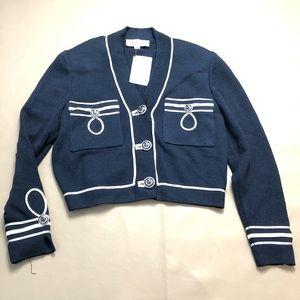 st John Crop blazer jacket SZ SP